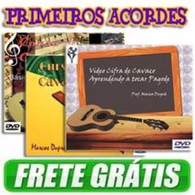 Curso Completo De Cavaquinho - 3 Dvds, Vol. 1, 2 , 3