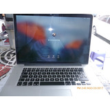 Macbook Pro Retina 15 Core I7 250gb Ddr3 16gb Ram Remate!!!!