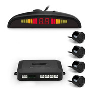 Sensor De Estacionamiento Sonoro Display Led Varios Colores