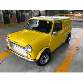 Austin Mini Cooper Van Panel De Coleccion Clásica