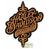 Bordado Harley Davidson Logo Retro Classico (moto)
