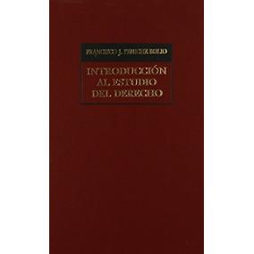 Libro Introduccion Al Estudio Del Derecho - Nuevo -