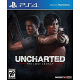 Uncharted: The Lost Legacy Ps4 - Nuevo - Físico Sellado