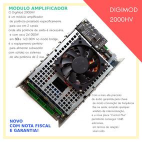 Mod Amplificador 2100 Rms Para Sistemas Alta Potencia 2 Vias
