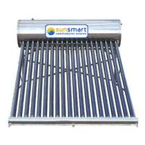 Calentador Solar 10 Tubos 132 Litros Acero Inoxidable