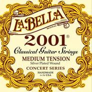Encordado Guitarra Criolla Clasica La Bella 2001 Medium Usa