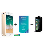 Iphone 7 Gold 32gb + Reifcare + Privacy Tempered Glass