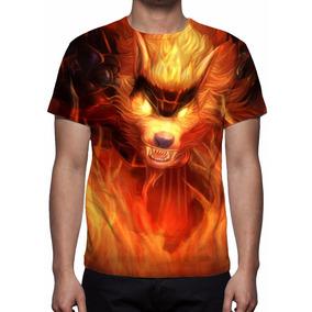 Camiseta League Of Legends Warwick Fogo - Frete Grátis
