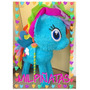 Piñata 3d Aviones Dusty, Super Wings Jett, Little Pony,avión