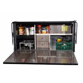 Caixa De Cozinha Para Caminhão- Pc Cozinhas 1,20x0,60x0,64