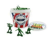 Boneco Soldadinhos De Guerra Toy Story 60 Soldados Chumbo