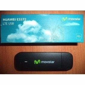 Modem Bam Movistar 4g Lte E3372 Con Linea A Su Nombre