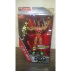 Wwe Mattel Ultimate Warrior Elite Con Cinturón De Campeón