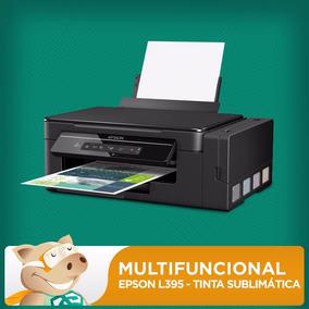 Multifuncional L395 Com Tinta Sublimática E Dispenser