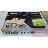 Tarjeta De Video Grafica Nvidia Gt 730 2gb Ddr3 128 Bits Msi
