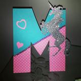 Letras En Mdf,chocolates, Cupcakes Personalizados Etc.