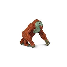 Safari Ltd. Fauna - Orangután Macho - Mano Realista Pintado