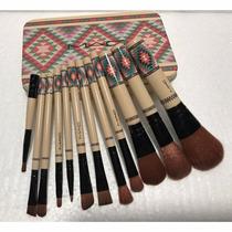 12 Brochas Mac Coleccion Tribal Sku 616 Maquillaje Img Grupo
