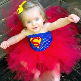 Disfraz Tutu Superman Niña