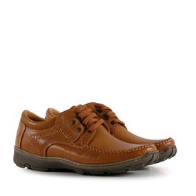 Zapatos Confort Cuero En Suela Hombre Batistella