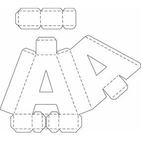 Kit 1000 Caixas Letras E Números Arquivo Sillhouette Cameo