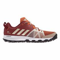 Zapatillas Adidas Running Kanadia 8 Trail M Bordo C/naranja
