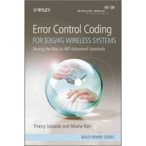 Error Control Coding For B3g/4g Wireless System Envío Gratis