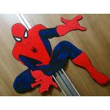Painel, Aplique Grande Homem Aranha Em Eva 85cm