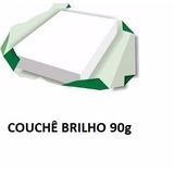 Papel Couchê Brilho A4 (90g/m²) 2000 Folhas