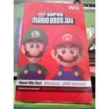 Manual Original New Super Mario Bros - Wii