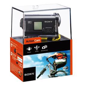 Filmadora Sony Action Cam À Prova De Água Hdr-as20 Com Wi-fi