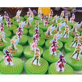 30 Sininho Peter Pan De 7,5cm Para Latinha 3d