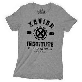 327f4462f76f3 Camiseta Feminina Filmes Herois X-men Escola Para Mutantes