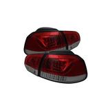Luces Traseras De Humo Rojas Carpart4u Volkswagen Golf / Gti