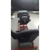 Juego Simulador Con Volante Y Pedalera Logitech