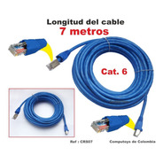 Zcrs07 Cable Red Utp Rj45 Categoría 6 7m Qcrs07q Compu-toys