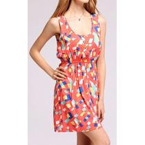Vestido Estampado Verano - Showroom Y Envíos 9011