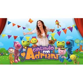 Cantando Con Adriana Lote 10 Cds + 3 Dvds - Los Chiquibum