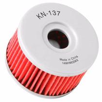 Filtro De Oleo K&n Kn 137 Kn-137 Suzuki Dr800 Dr 800