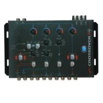 Crossover Digital Eletrônico Jfa X4 C/ Bass Booster - 4 Vias