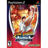 Ps2 Playstation 2 Street Fighter Alpha Antology Nuevo!