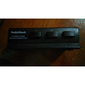 Selector De Audio Radio Shack