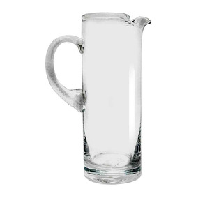 Jarra Vidrio Cristal Agua Cilindro Prinz