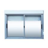 Ventanas Aluminio Corrediza Persiana Enrollar 1.50 X 1.20