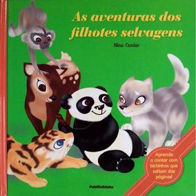 Livro As Aventuras Dos Filhotes Selvagens