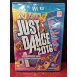 Just Dance 2016 Wii U Ubisoft Nuevo Sellado Envio Gratis Msi