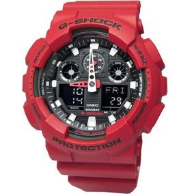 Relógio Casio G Shock Ga 100b-4adr Padrão Digital-analógico