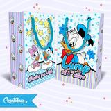 Pato Donald Bebe Disney Bolsitas Golosineras Pack X10