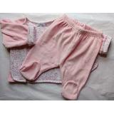 Enterito Bebe Nena 3 Meses Campera Plush Pantalon Abrigo