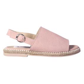 Sandalias Mujer Cuero Zapatos Yute Faja Tiras Verano Tops